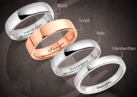 Wedding ring engraving northern ireland robert adair for Wedding ring engraving