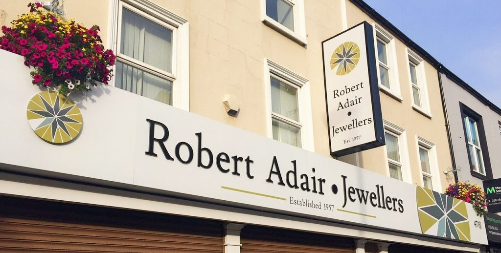 Robert Adair Jewellers Workshop - Ballymena
